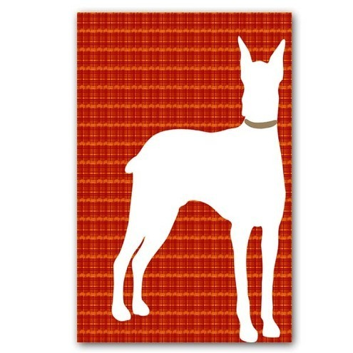 Doberman  Dog- fine art print 10X8 Inches
