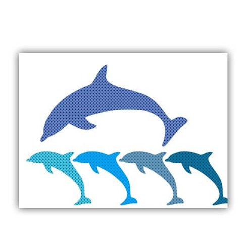 Dolphins in group