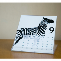 50% OFF SALE 2013 Desk Calendar - Calendar with case stand