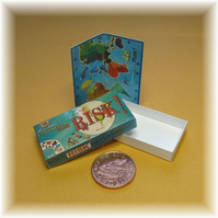 Dolls House 1:12th scale miniature board game. Risk PRICE REDUCED