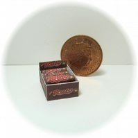 Dolls House 1:12th scale miniature shop box of sweets, rolos PRICE REDUCED