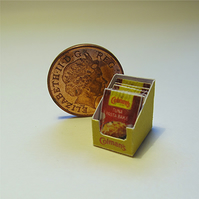 Dolls House 1:12th scale miniature box of sauce mix. Tuna PRICE REDUCED