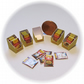 Dolls House 1:12th scale miniature 5x boxes of sauce mixes