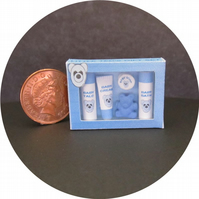 Dolls House 1:12th scale miniature Little Teds baby toiletries