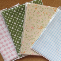 Small print polycotton fabrics pack B