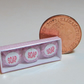 Dolls House 1:12th scale miniature, pretty box of pink soaps