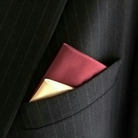 Pre-Folded Pocket Square, Men's Suit Accessory
