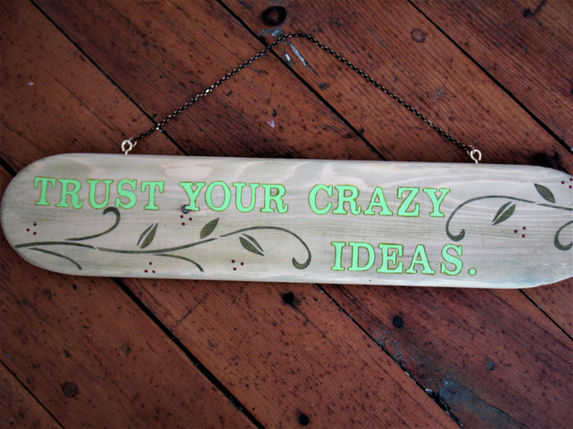Crazy ideas sign
