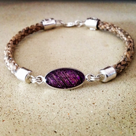 Horsehair Bracelet with connector