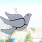 White bird suncatcher