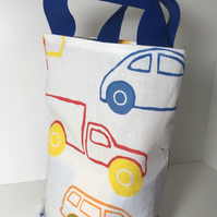 Pattern polycotton fabric Party Bags - Handmade - Sold Empty