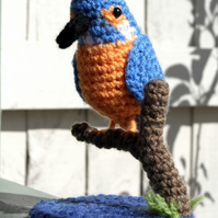 Crochet Kingfisher