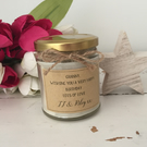 Personalised write your own message scented candle gift