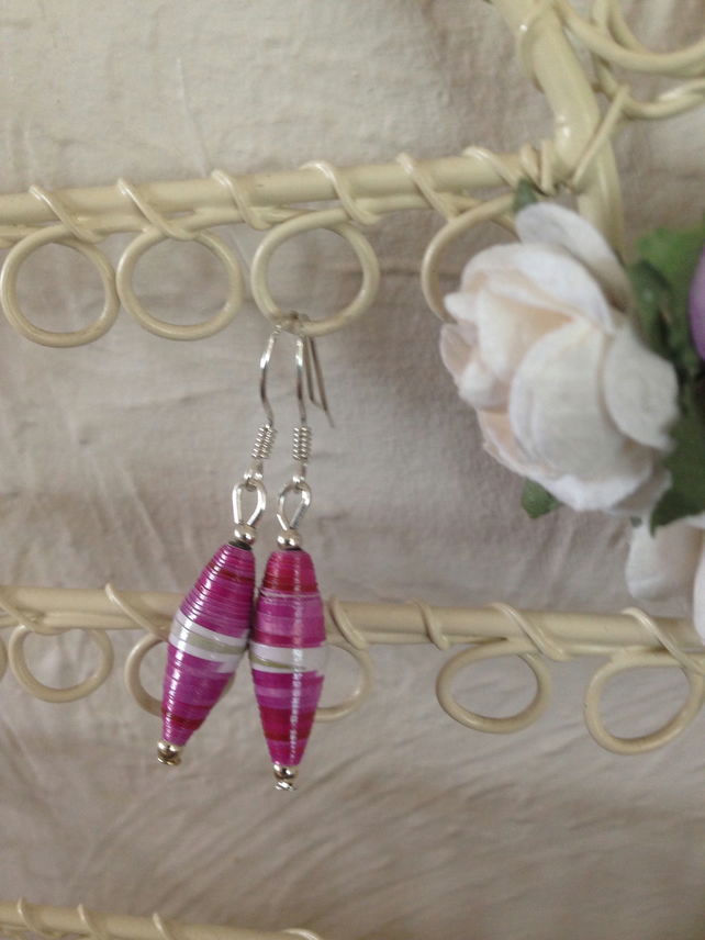 Handmade Paper Earrings