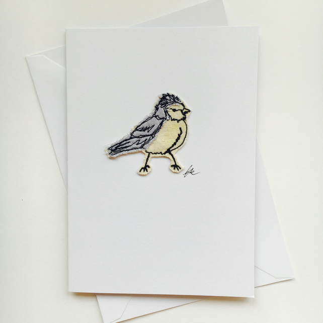 Bluey Embroidery Card