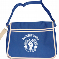 BAD SPELLERS OF THE WORLD UNTIE- Dictionary Shy Mens retro messenger bag SHB1023