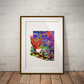 Arizona Watercolor Print Wall Art