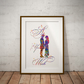As You Wish Watercolor Print Wall Art