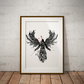 Assassin`s Creed Watercolor Print Wall Art