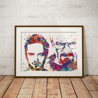 Breaking Bad Watercolour Print Wall Art
