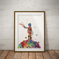 Le Petit Prince 1 Watercolour Print Wall Art