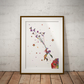 Le Petit Prince 2 Watercolour Print Wall Art