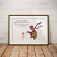 Le Petit Prince 5 Watercolour Print Wall Art