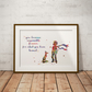 Le Petit Prince 7 Watercolour Print Wall Art