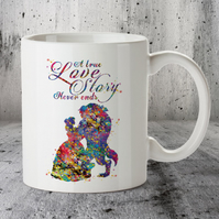 Beauty and Beast Disney Popular Love Story Quote 4 Mug Cup
