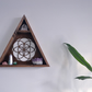 Seed Of Life Triangle Shelf