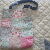 Handmade Patchwork Tote Bag