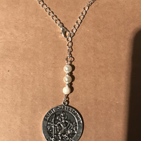 St Christopher haning charm
