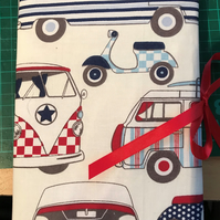 Padded note book cover (vw)