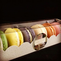12 Authentic French Macarons - Made to order. Delivered Nationwide.