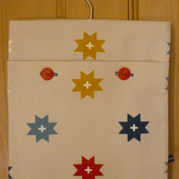 Starry peg bag
