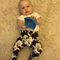 Triceratops Leggings 0-3 months