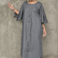 Oversized Kaftan Denim Dress Long Maxi Kaftan Dress FREE SHIPPING