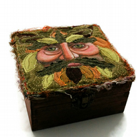 Green Man Box - made to order