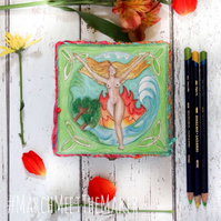 Goddess Gaia - Mother Earth - Trinket and Treasure Box