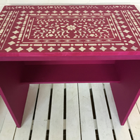 Child's pink dressing table or desk