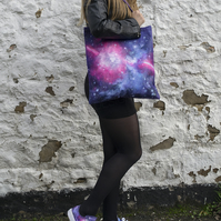 Glitter Galaxy Bag (Purple)
