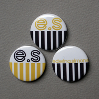 *SALE - HALF PRICE* 20 cusom badges 25mm