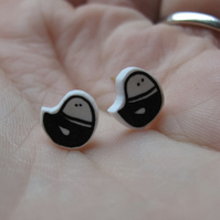 SALE Teeny birdy earrings
