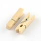 20 Mini Wooden Craft 35mm Pegs Clips Photo Hanging (WL44)