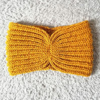 Mustard Thermal Earwarmer Headband