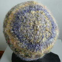 Fluffy Wool Beanie Hat