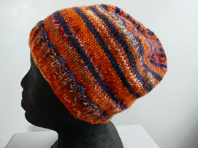 Wool Mix Beanie Hat