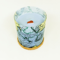 'Adventure - Medium' Wooden Wick Scented Candle