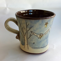 Winter trees mug