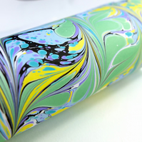 A4 Marbled paper sheet bold and bright